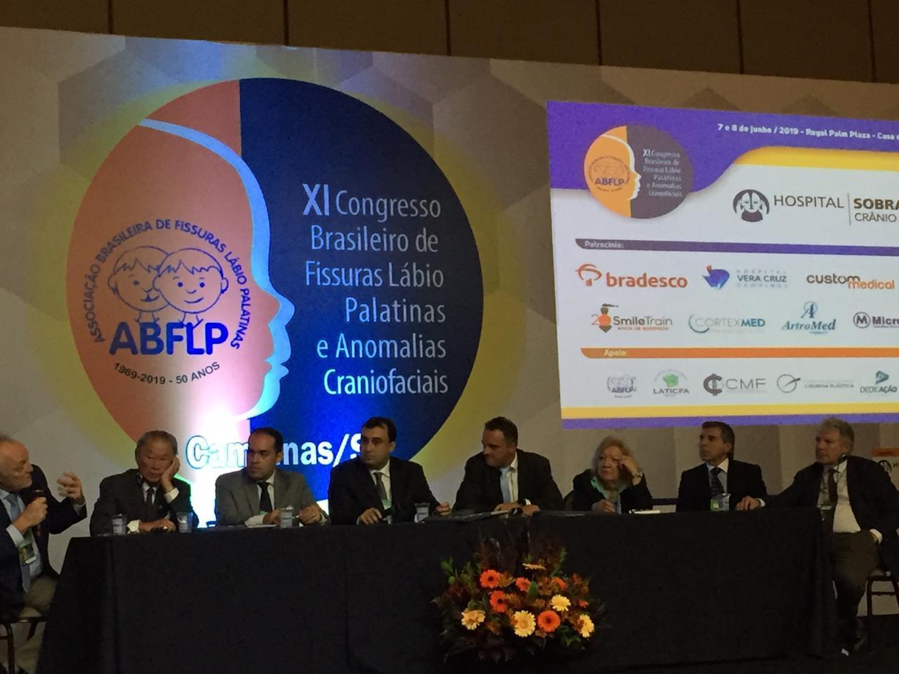 Dr. Giugliano en Congreso Brasilero de Fisuras Labio Palatinas y Anomalías Craniofaciales - junio 2019