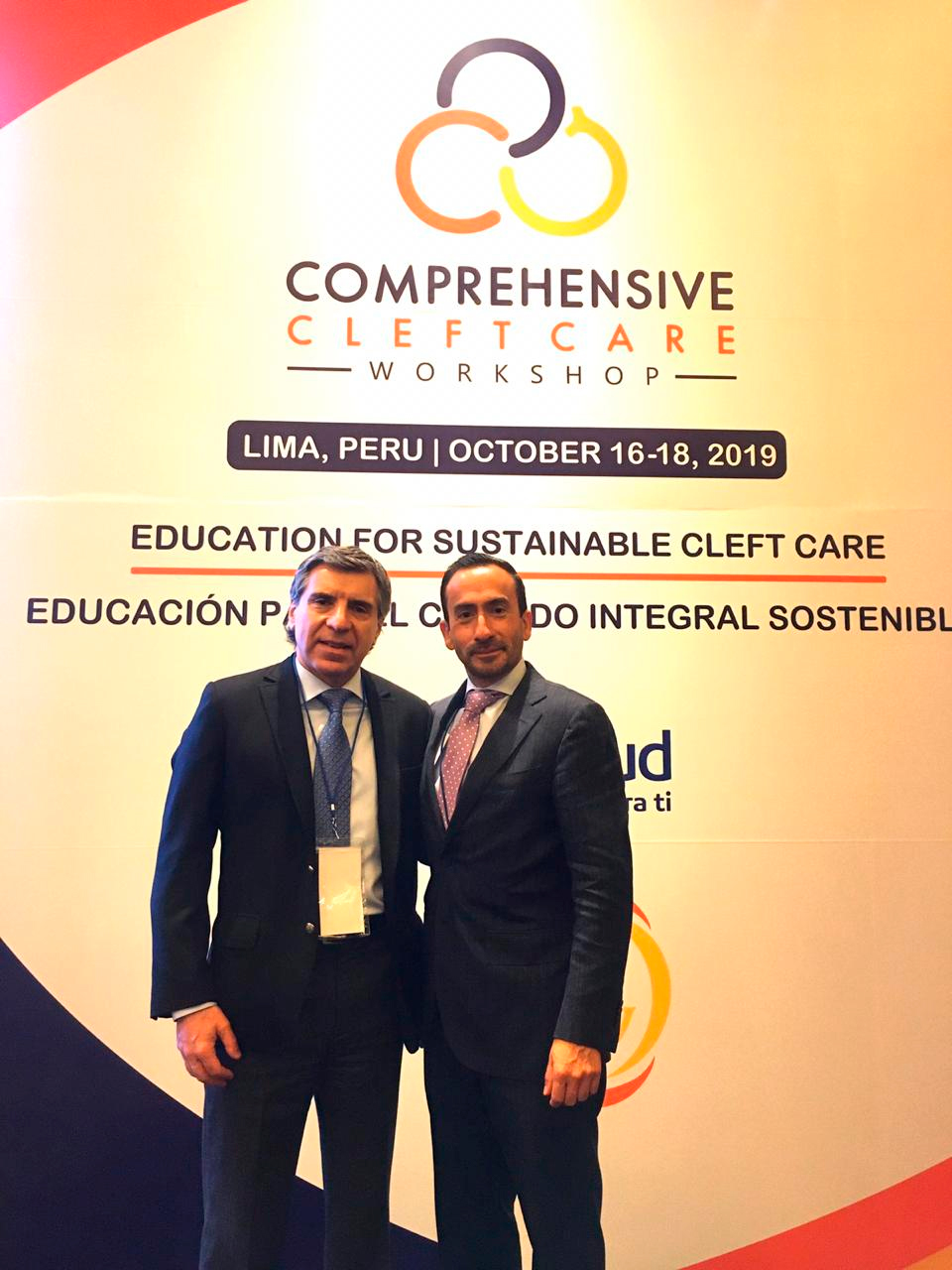 2019 International Comprehensive Cleft Care Workshop (CCCW), Lima, Perú