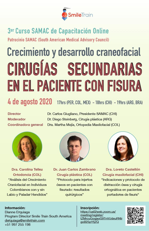 """Dr. Giugliano presentó el tema: """"Resultados quirúrgicos de IVF en Deleción 22"""""""