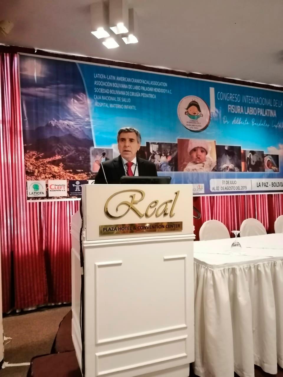Congreso Internacional de la Fisura Labio Palatina en Bolivia